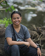 Nikki Realubit - KU Herpetology - photo