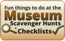Fun things to do at the museum discovery guides graphic